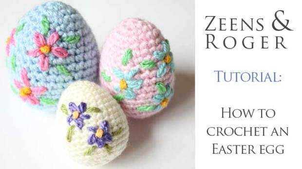 Crochet Yourself An Amigurumi Easter Egg Video Tutorial Pattern