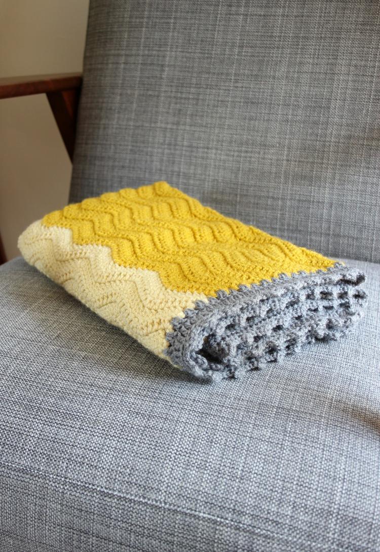The Crochet Elephant Ripple Blanket – Zeens and Roger