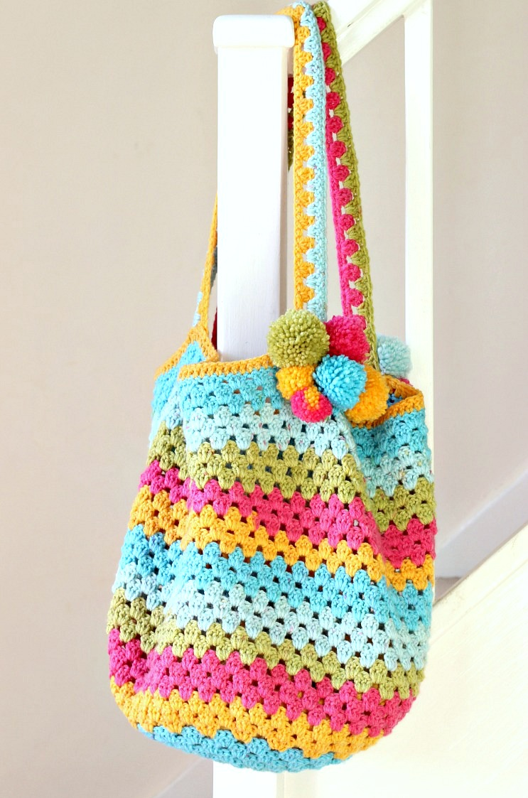 How to crochet a bag 73