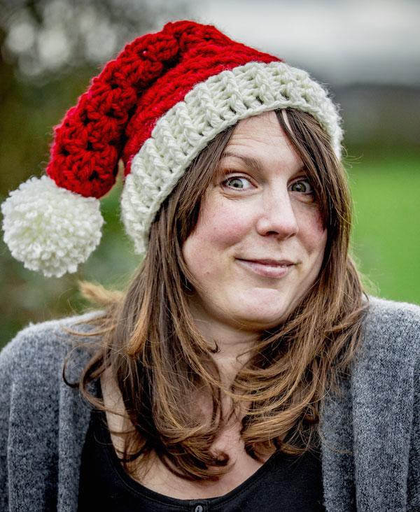 Last Minute Pattern Crochet Granny Christmas Hats Zeens And Roger